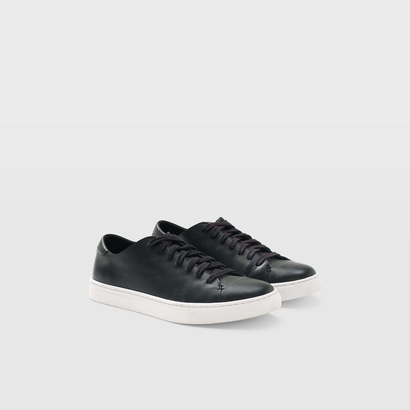 2125ad5379d1 Club Monaco Leather Sneaker ·  98.50 · Black