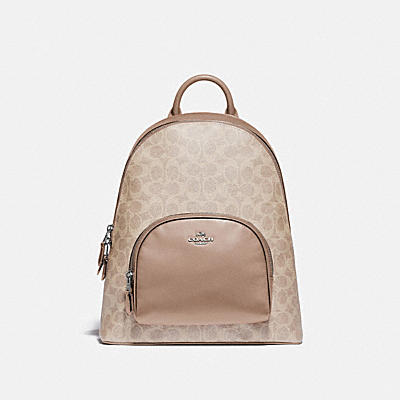 CARRIE BACKPACK IN SIGNATURE CANVAS