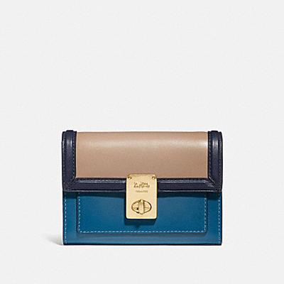 コーチ COACHの財布&革小物 |ハットン ウォレット カラーブロック