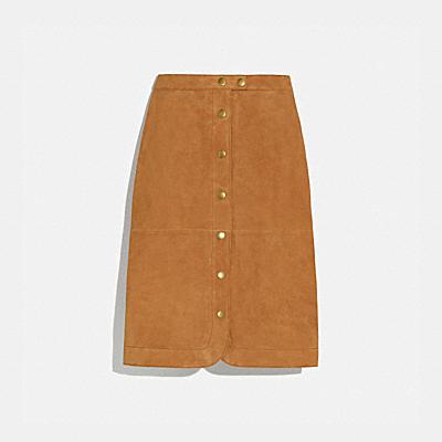 スエード スカート