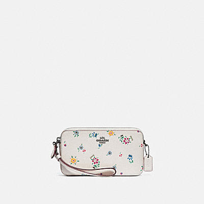 KIRA CROSSBODY WITH WILDFLOWER PRINT