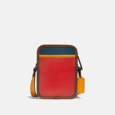 ZIP CAMERA BAG IN COLORBLOCK