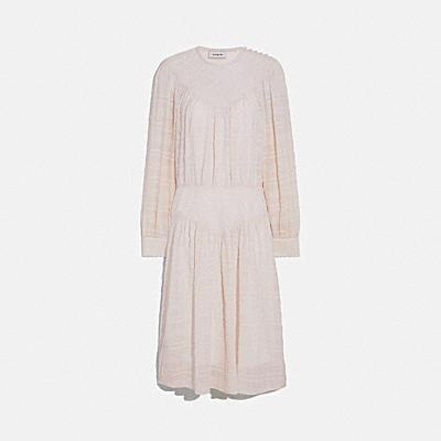 プラッド ヨーク ドレス