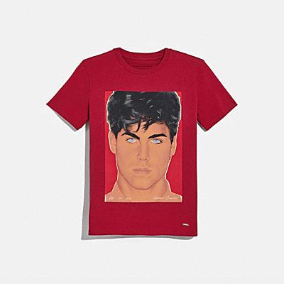 COACH X RICHARD BERNSTEIN 롭 로 티셔츠