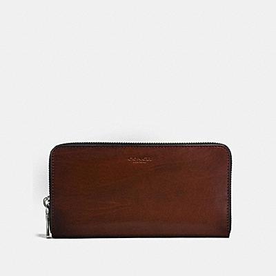 コーチ COACHの全ての財布&革小物 |アコーディオン ウォレット ウォーター バッファロー レザー
