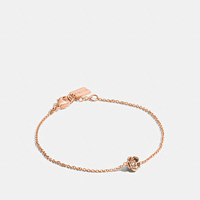 MINI 18K GOLD PLATED TEA ROSE BRACELET