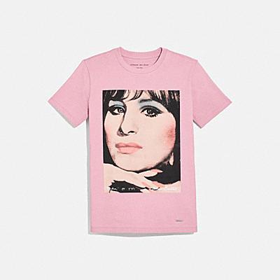 COACH X RICHARD BERNSTEIN Tシャツ ウィズ BARBRA STREISAND