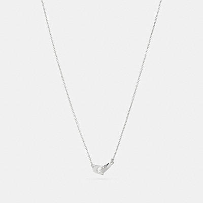 SIGNATURE CHAIN PENDANT NECKLACE
