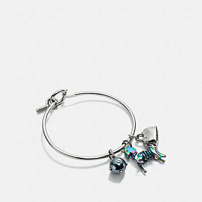 UNI CHARM COLLECTIBLE HOOP BANGLE SET