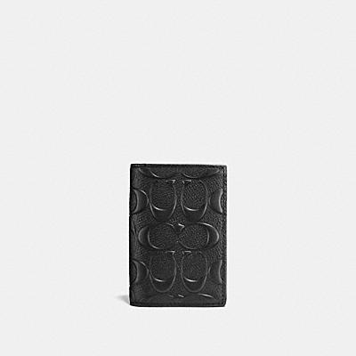バイフォルド カード ケース シグネチャー クロスグレイン レザー