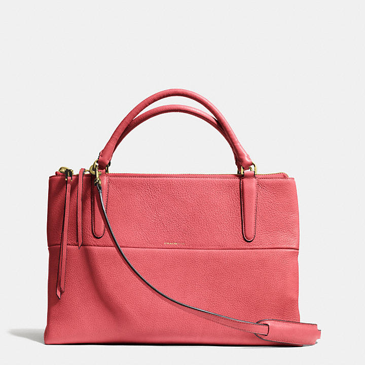 coach official site official page the borough bag in pebbled leather rh singapore coach com