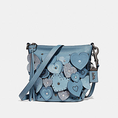 DUFFLE 20 WITH HEARTS