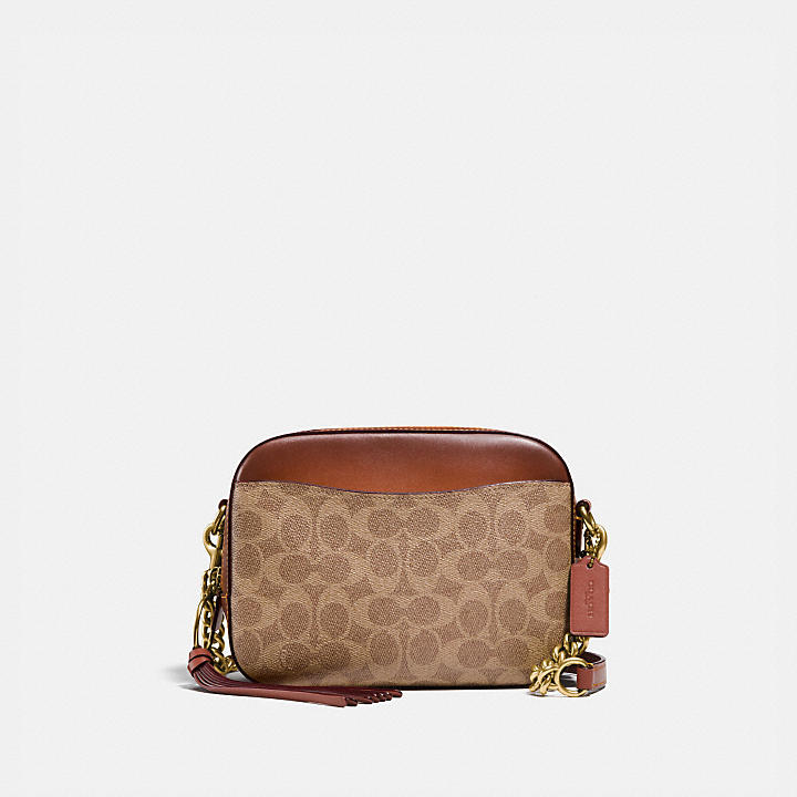 87ed1368f45 COACH Official Site Official page|CAMERA BAG IN SIGNATURE CANVAS