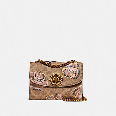 PARKER 18 IN EMBELLISHED SIGNATURE ROSE PRINT