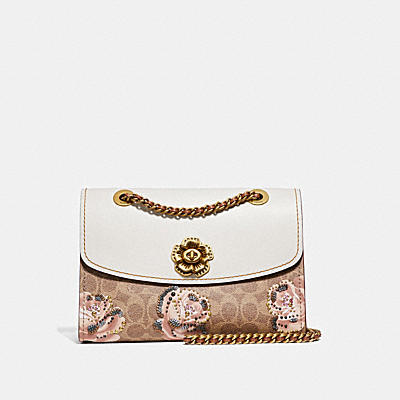 PARKER IN EMBELLISHED SIGNATURE ROSE PRINT