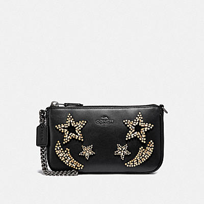 NOLITA WRISTLET 19 WITH CRYSTAL EMBELLISHMENT