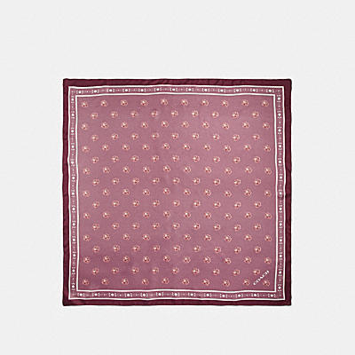 ROSE SILK SQUARE
