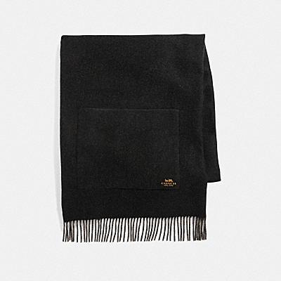 雙面羊絨圍巾