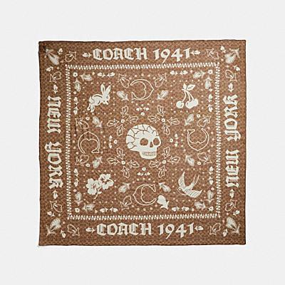 SIGNATURE 1941 絲質方巾