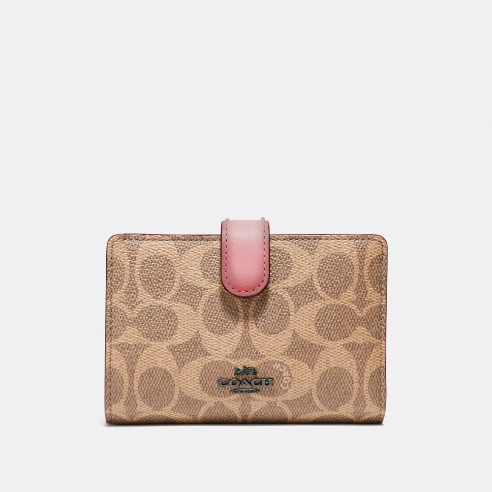 f55166324e3f COACH Official Site Official page | MEDIUM CORNER ZIP WALLET IN ...
