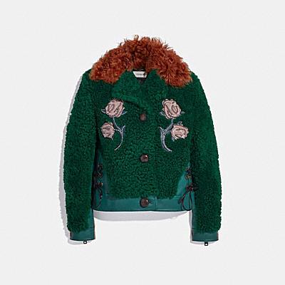 裝飾毛領夾克