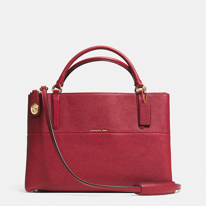 fb6be3c5e0 ... cheap coach official site official pagethe turnlock borough bag in  embossed textured leather 6367e a8f9e