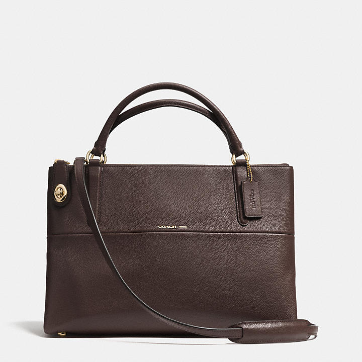 coach official site official page the turnlock borough bag in rh hongkong coach com
