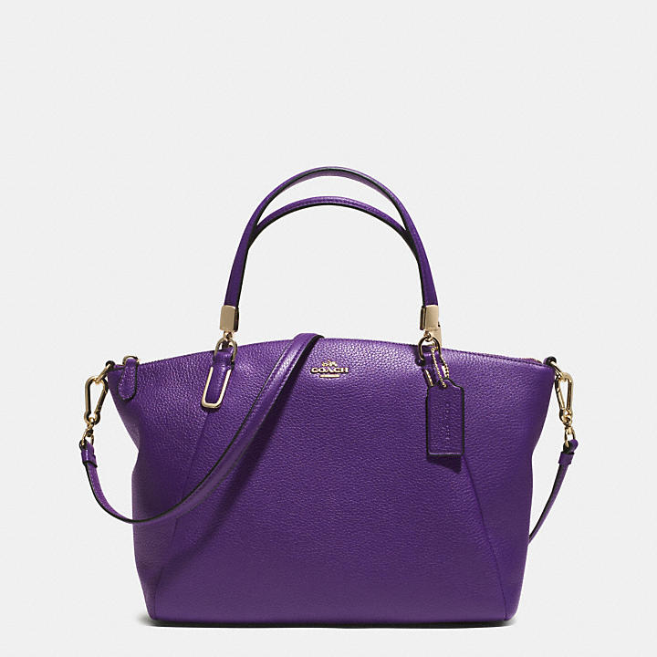 a6ea1effa1167 SMALL KELSEY CROSSBODY IN PEBBLED LEATHER