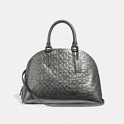 QUINN SATCHEL IN SIGNATURE LEATHER