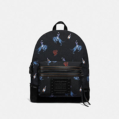 ACADEMY BACKPACK IN CORDURA® FABRIC WITH RODEO PRINT