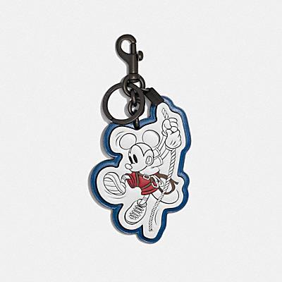 コーチ COACHの全てのファッション小物 |DISNEY X COACH ロープ クライム ミッキーマウス バッグ チャーム