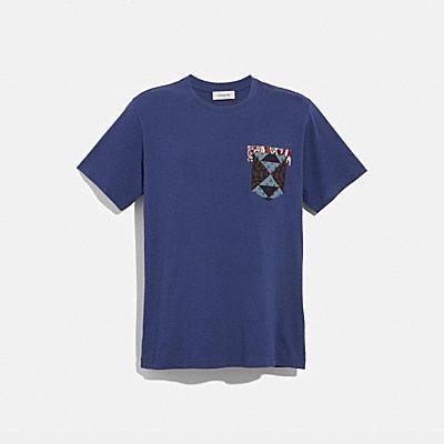 パッチワーク バンダナ Tシャツ