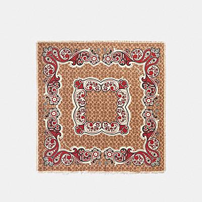 BANDANA SIGNATURE絲質方巾