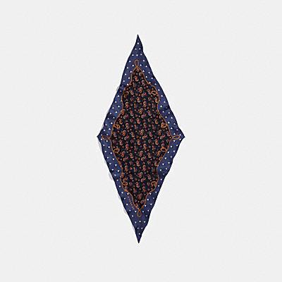 大草原雛菊菱形圍巾