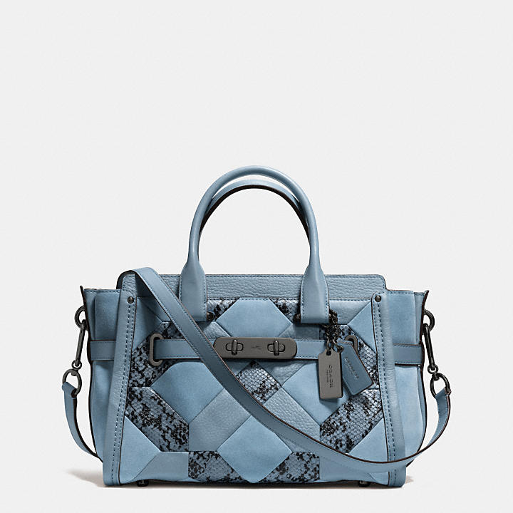 7745886f90d COACH Official Site Official page COACH SWAGGER 27 IN PATCHWORK ...