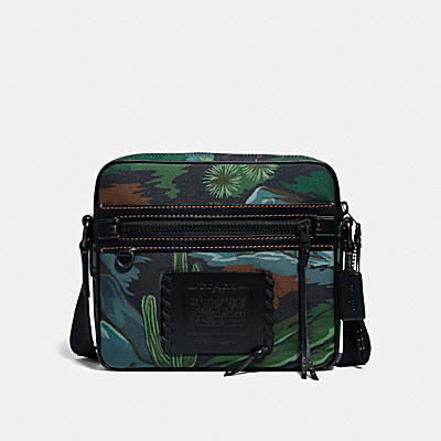 DYLAN 27 IN CORDURA® FABRIC WITH LANDSCAPE PRINT