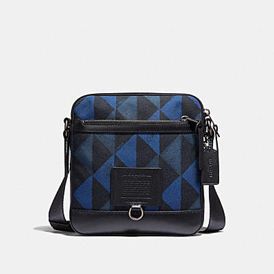 RIVINGTON CROSSBODY WITH DIAMOND PRINT