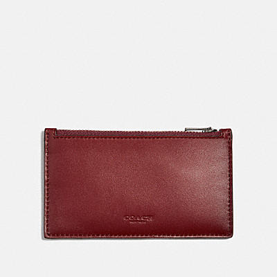 ZIP CARD CASE