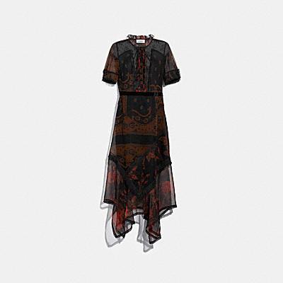 バンダナ プリント ドレス