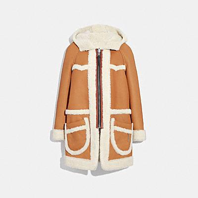 PARKA雙面羊毛大衣