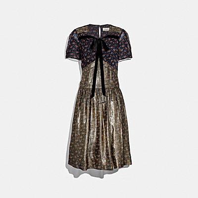 デイジー プリント ドレス