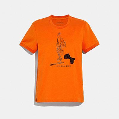 ボニー カシン ロング ブーツ Tシャツ