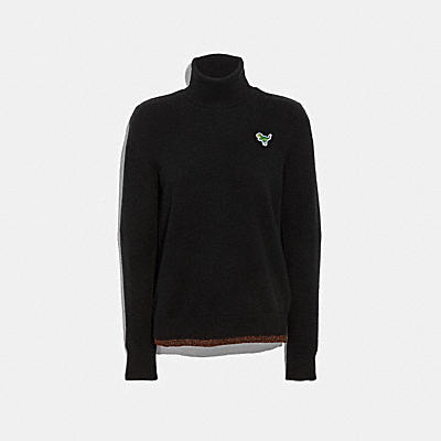 REXY PATCH TURTLENECK