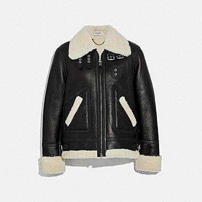 羊毛飛行員夾克