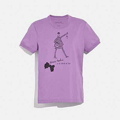 보니 캐신 워킹 티셔츠