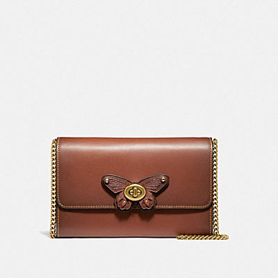 MARLOW TURNLOCK CHAIN CROSSBODY WITH ANIMALS