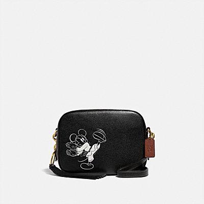 コーチ COACHの全てのレディースバッグ |DISNEY X COACH カメラ バッグ ウィズ カラテ ミッキーマウス