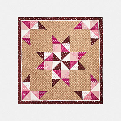 SIGNATURE PATCHWORK OVERSIZED SQUARE