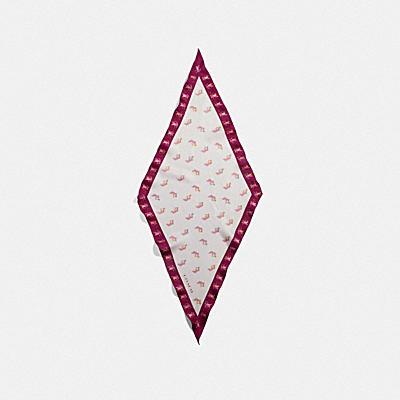 パーティー ピッグ シルク ダイヤモンド スカーフ