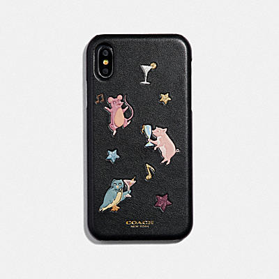 PARTY ANIMALS 印花 IPHONE XR 手機殼